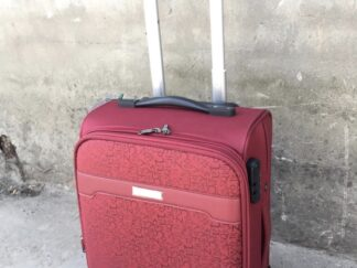Fashion Red 19 Inch 4-Wheel Luggage