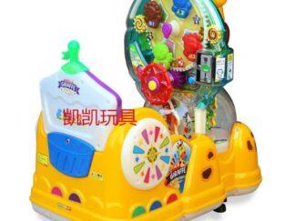 Giraffe Carousel Kids Train-3