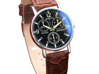 Leather Man Watch-5
