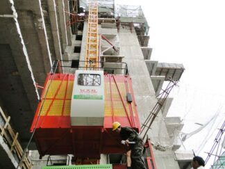 SC Construction Building Material Lift Sand & Brick Lifting Machine