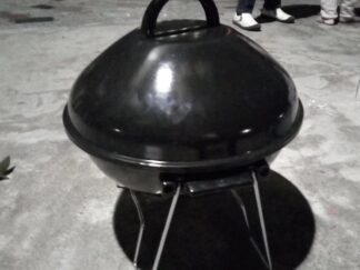 Charcoal Smoker 14-Inch Portable Grill