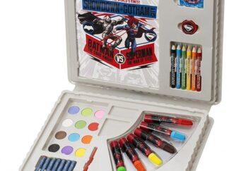 merkandi-Sambro-Bvs-4140-Batman-Vs-Superman-Travel-Art-Case-Set 1