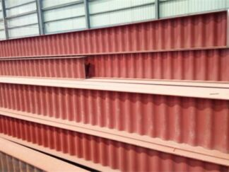 Corrugated web H section steel-1