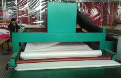 Cross quilt pipelining machine assembly line equipment-4