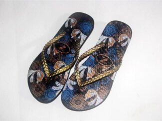 PE rubber flip flops-1