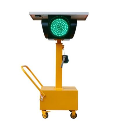 Solar energy mobile signal lamp-1
