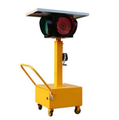 Solar energy mobile signal lamp-2