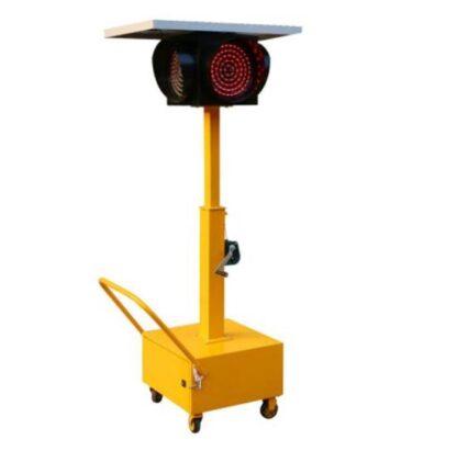 Solar energy mobile signal lamp-4