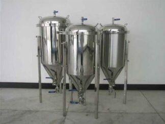 Stainless steel fermenter