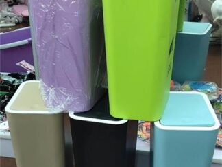 Bounce trash can-