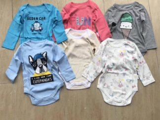 Pure cotton long sleeve baby clothes-1