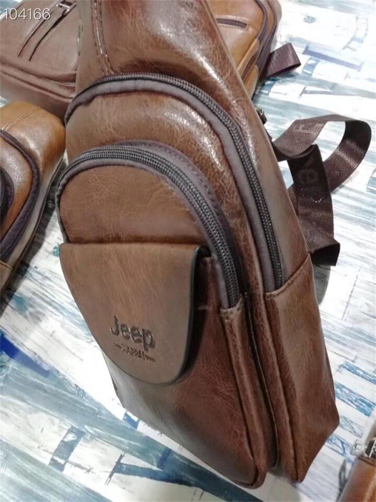 Leather Cheast Bag-5